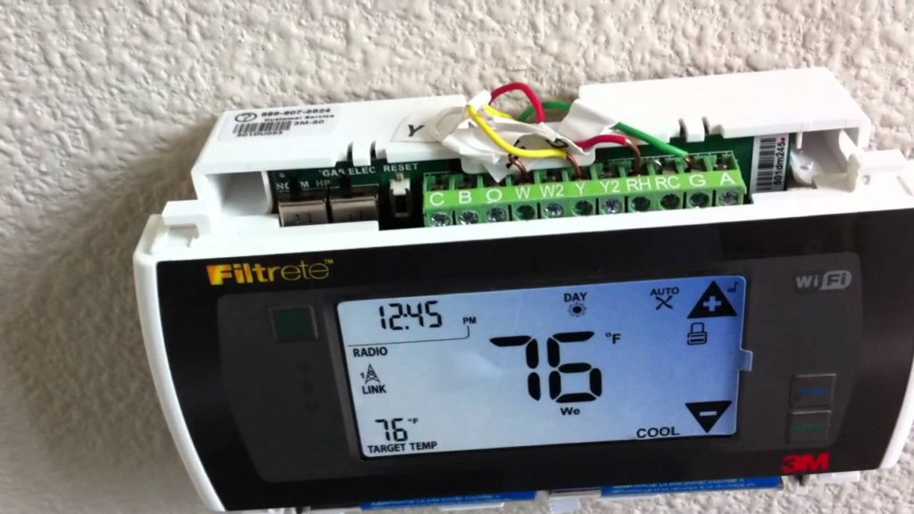 Filtrete Thermostat WiFi Setup