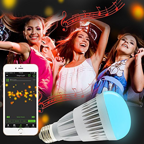MagicLight Pro Bluetooth Smart LED Light Bulb
