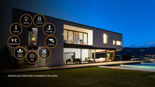 Smart Home Control with WiFi