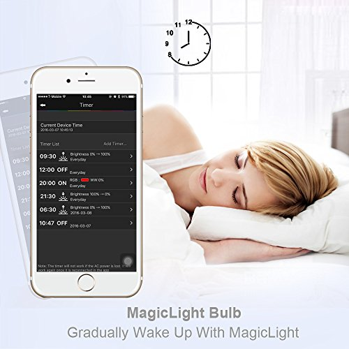 Morning glow with Smart LED Lights