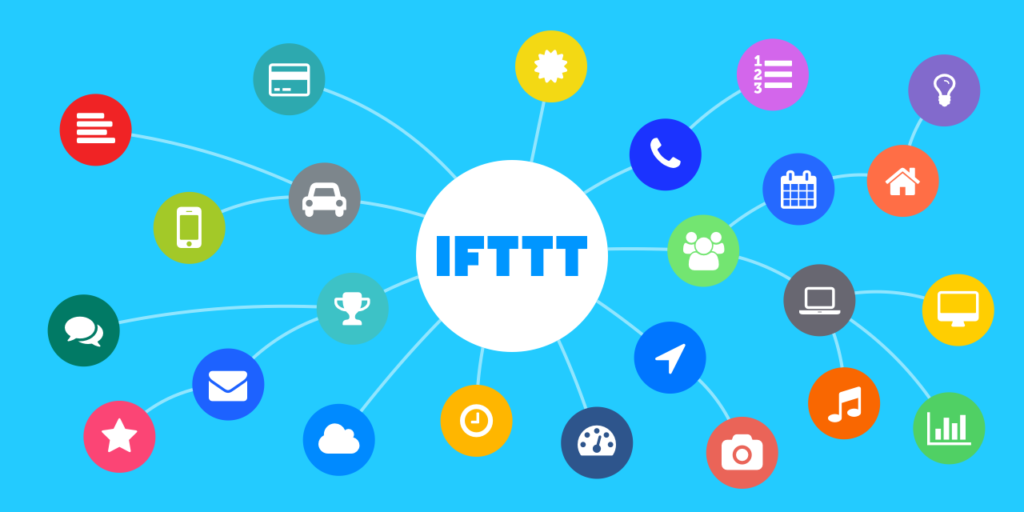Internet of things on IFTTT