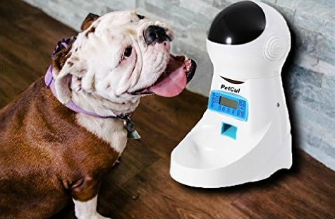 PetCul Automatic Pet Feeder Food Dispenser for Dog & Cat