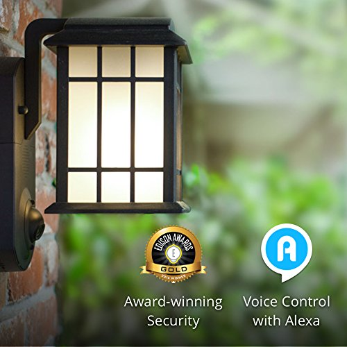Maximus Smart Home Security Outdoor Light and Camera