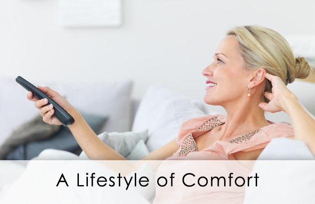 Comfortable Lifestyle with Smart Homes