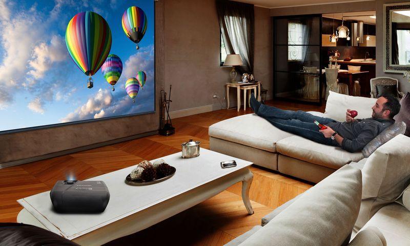 ViewSonic PRO7827HD 1080p HDMI RGBRGB Rec.709 Lens Shift Home Theatre Projector
