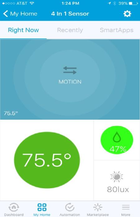 ZOOZ Z-Wave Plus ZSE40 4 in 1 Sensor