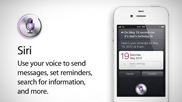 Siri Voice Control