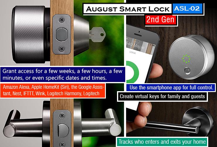 August Smart Lock 2nd Generation