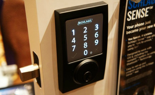 Z-Wave Deadbolt