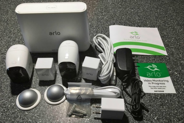 Arlo Pro Security System with Siren
