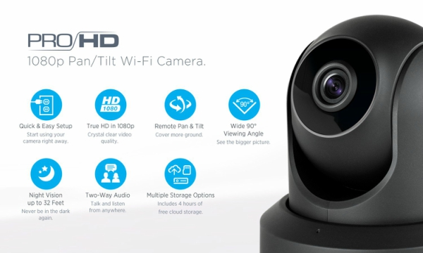 Amcrest IP2M-841 ProHD 1080P (1920TVL) Wireless WiFi IP Camera