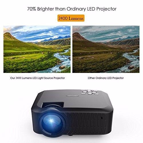 DBPOWER T22 LCD Mini Projector