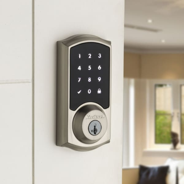 Kwikset 916 Z-Wave SmartCode Touchscreen Electronic Deadbolt
